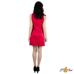 къса сатенена рокля