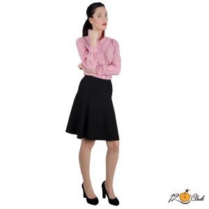 къса черна пола