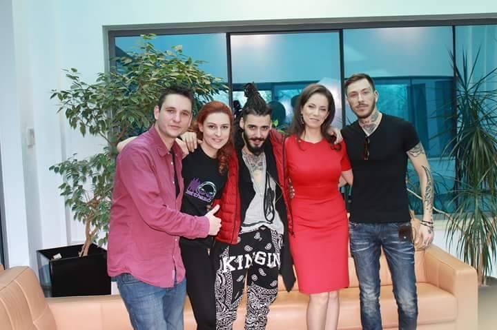 екип на телевизия Bulgaria on Air