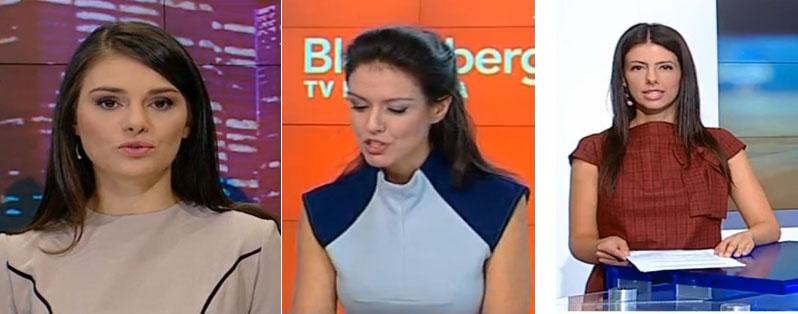 водещите на телевизия Bulgaria ON AIR