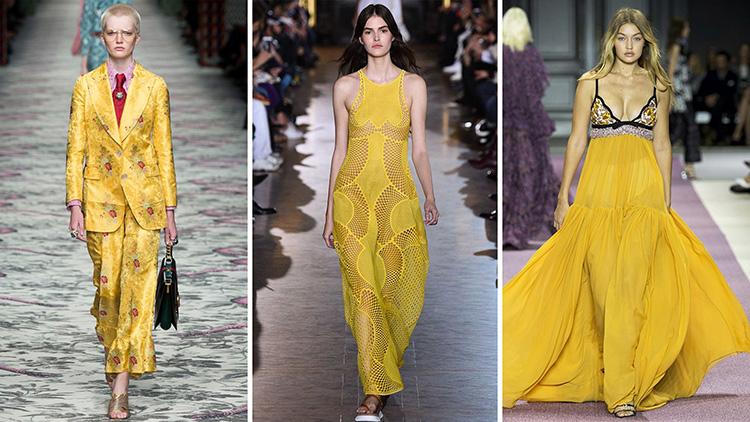 цветовете на дамската мода