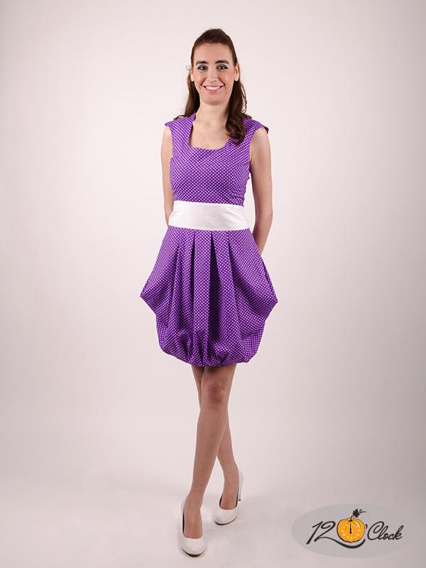 Къса памучна рокля