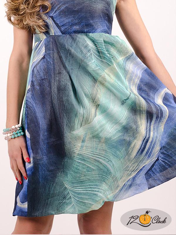 рокля от памук и лен