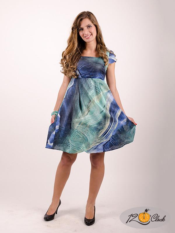 рокля тип балон