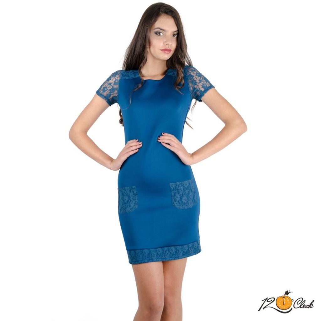 Стилна къса рокля