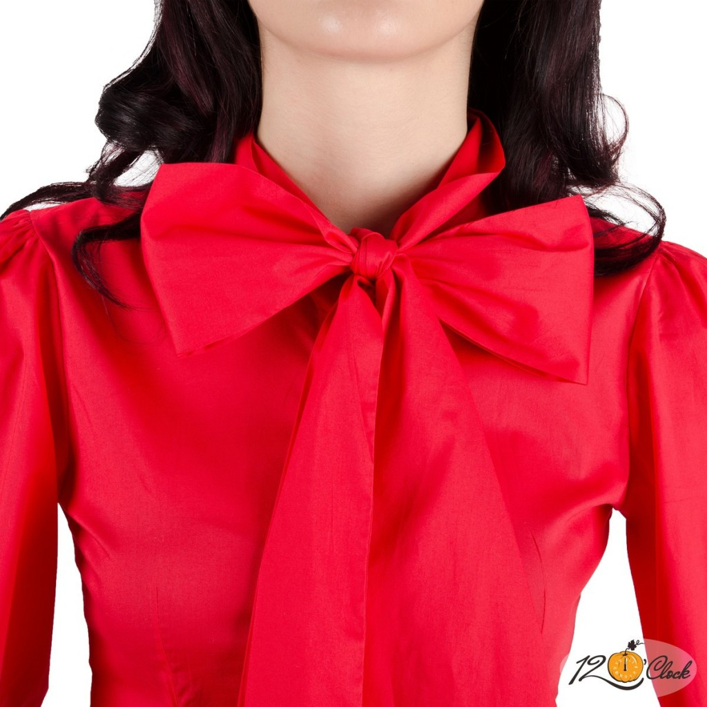 риза с буфан ръкави