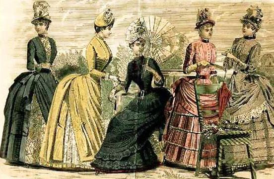 мода викториански стил