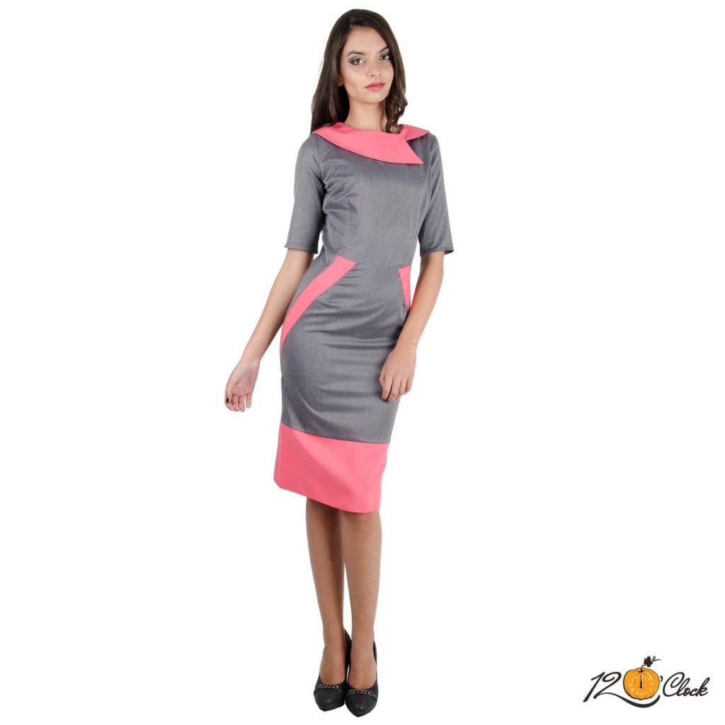 елегантната рокля