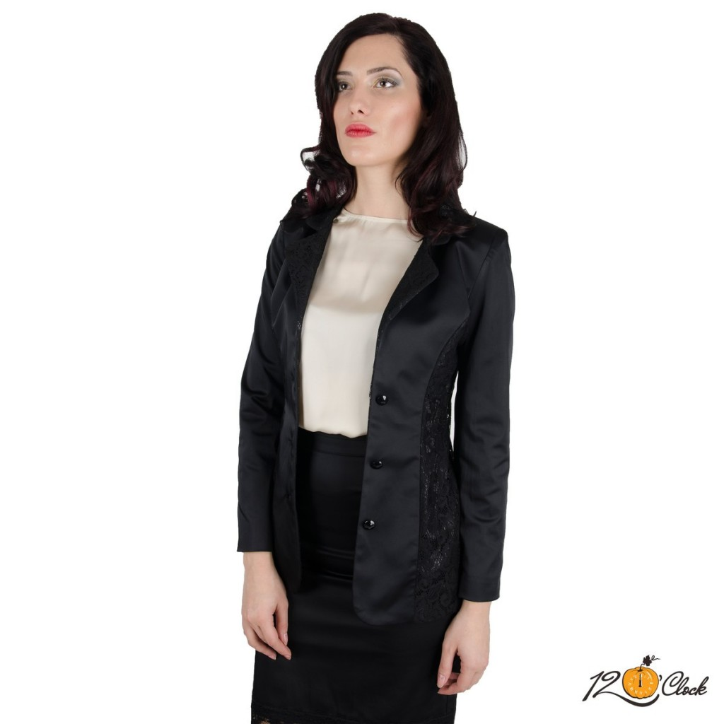 класическо черно сако