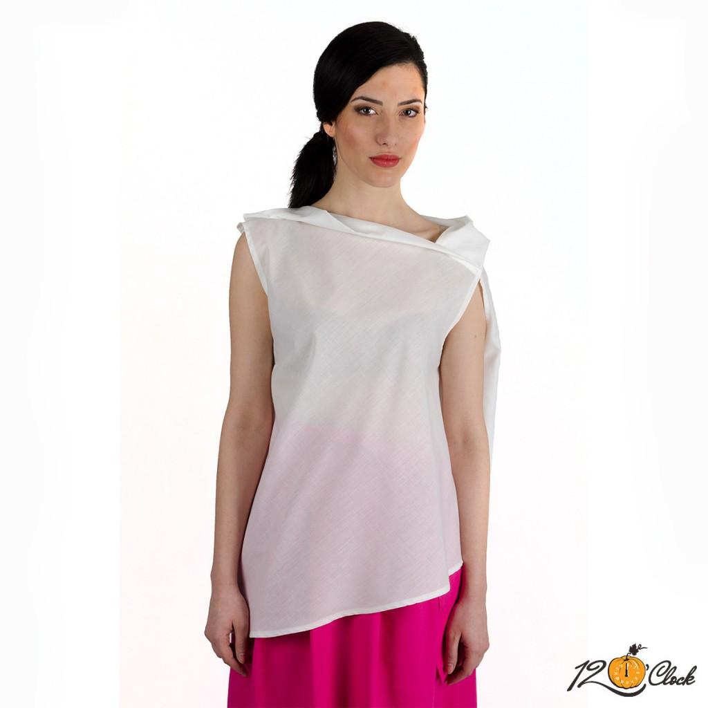 блуза без ръкав