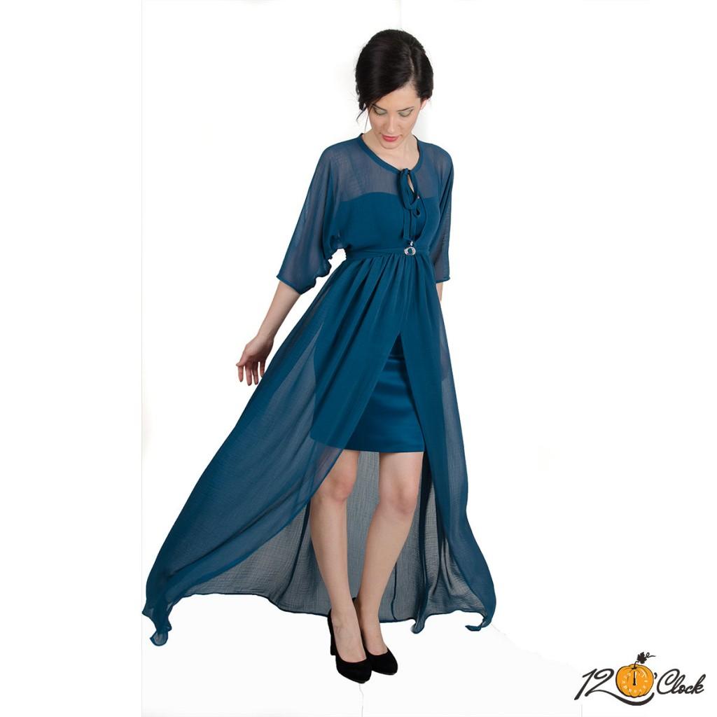 рокля от шифон