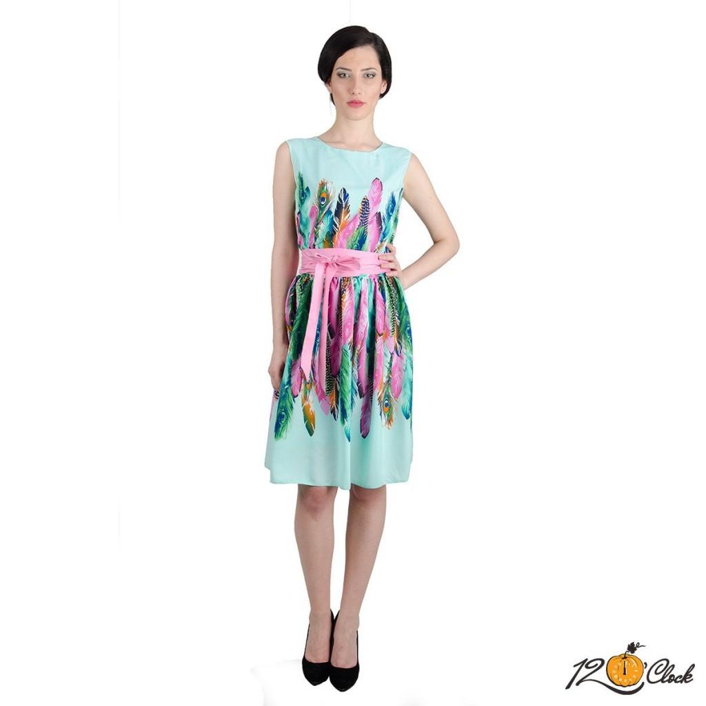дамска рокля от вискоза