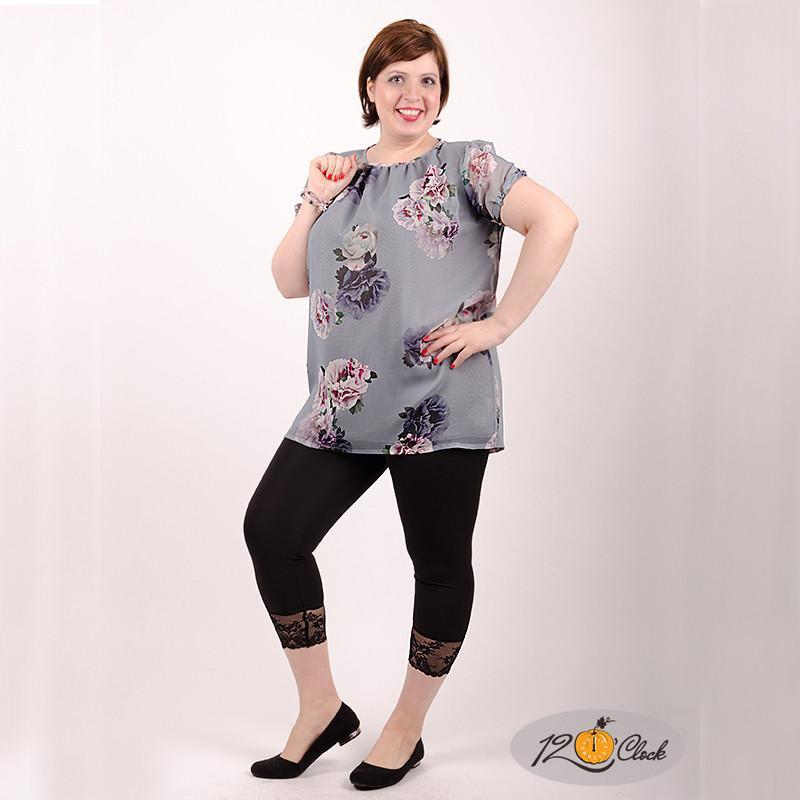 Шифонена дълга блуза