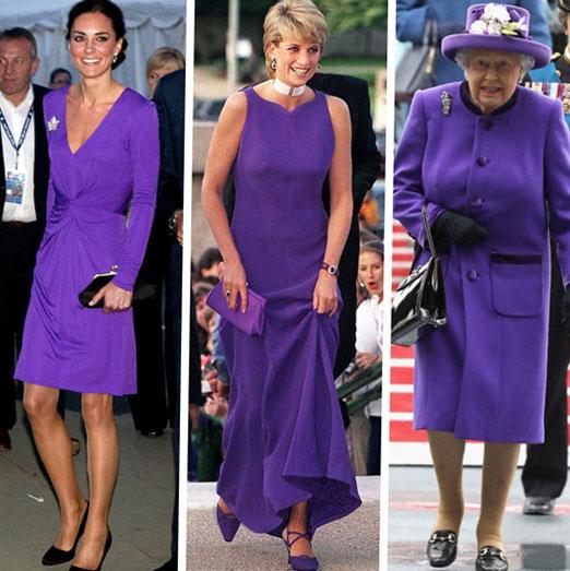 дрехи ултравиолетов цвят