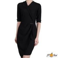 Вечерна черна рокля