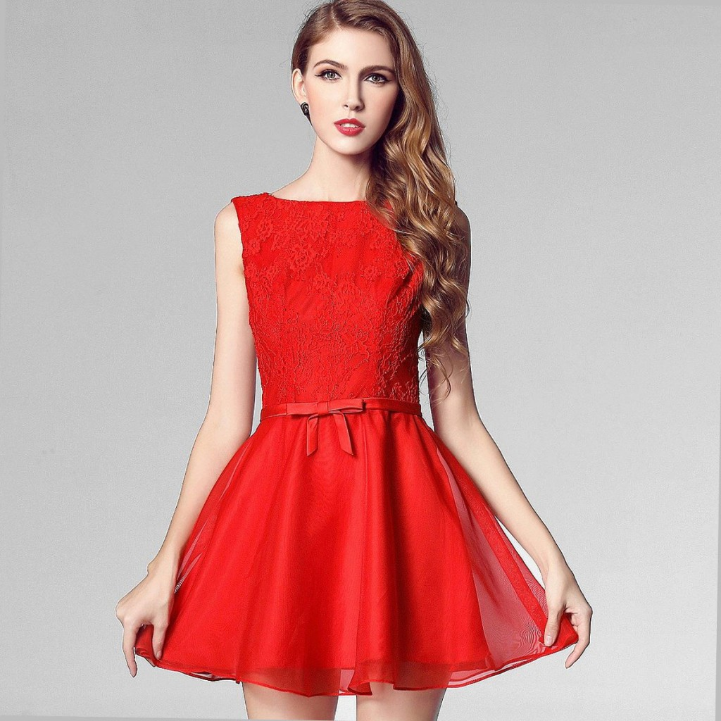 къса разкроена рокля