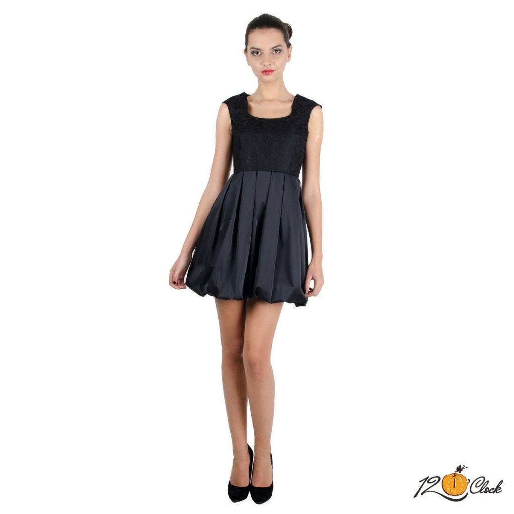 черна рокля за лятото