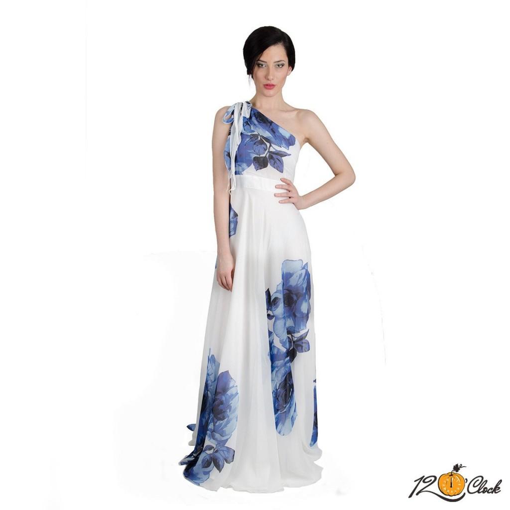 рокля с една презрамка