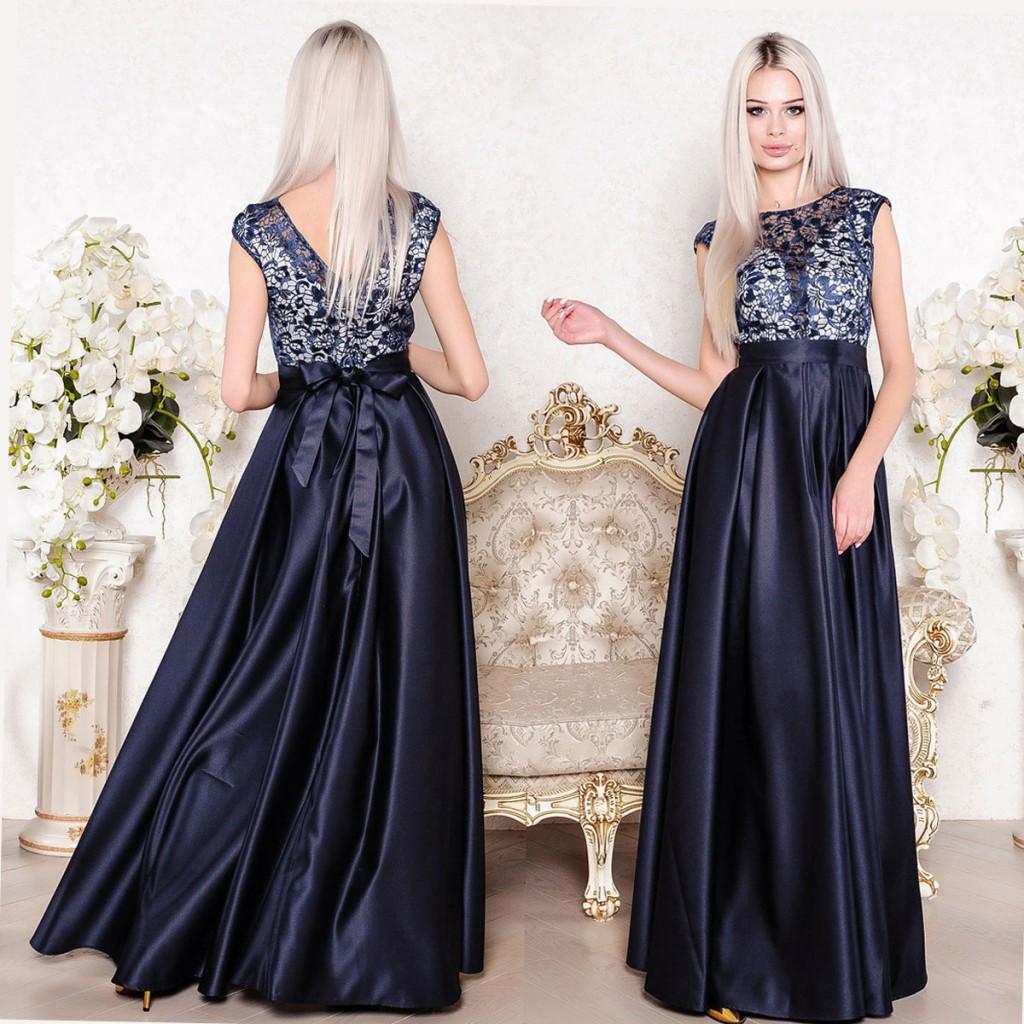 дълга вечерна рокля