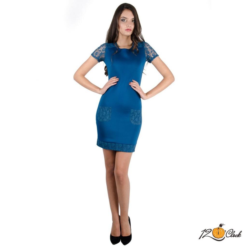 "къса рокля ""Петрол"""