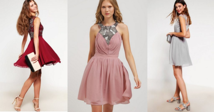 къса рокля за бала